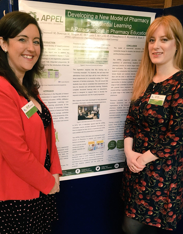 Aisling and Eimear at AIPC 2017